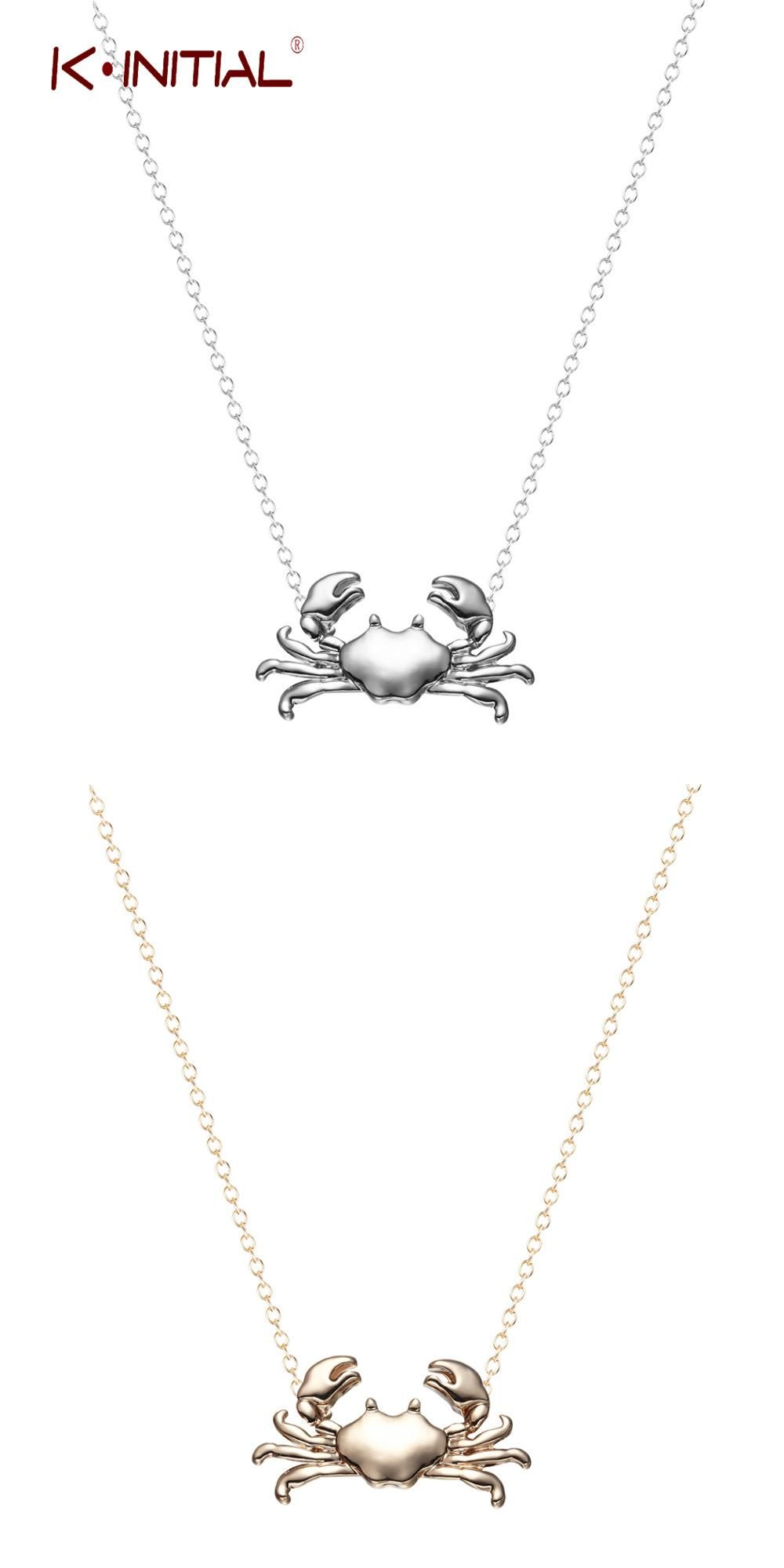 Visit to buy kinitial retail silver gold maryland crab pendant