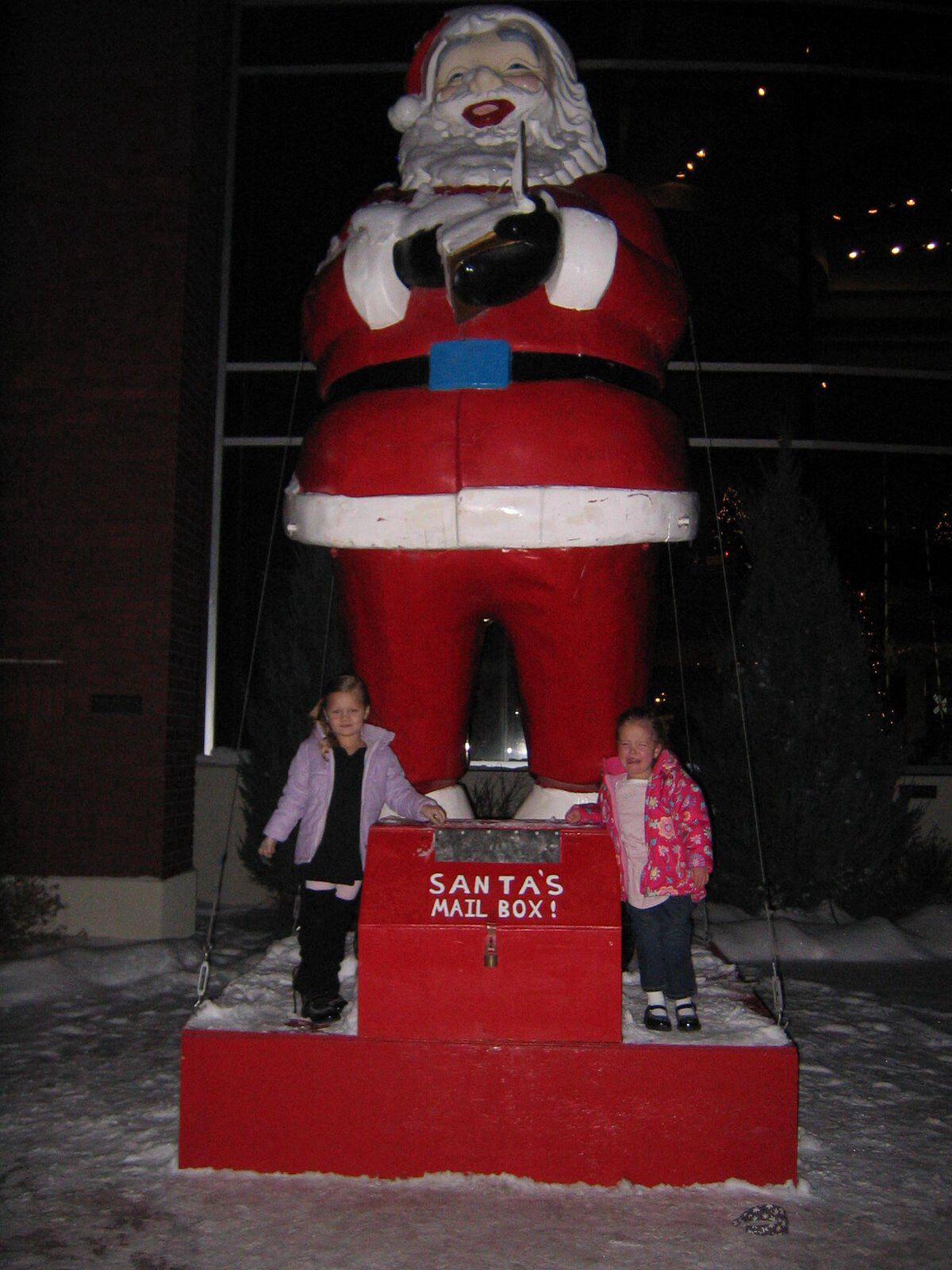 I mailed my letter to santa year after year in this santa mailbox in i mailed my letter to santa year after year in this santa mailbox in idaho falls spiritdancerdesigns Choice Image