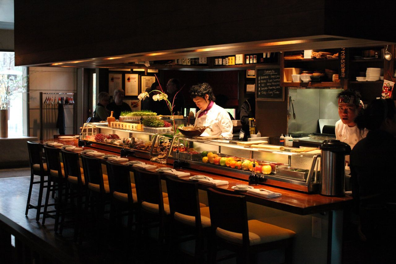 Sushi Bar Design Layout - Google Search
