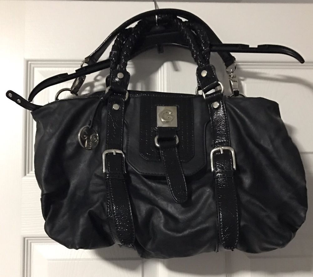 fe76012ca490 G By Guess Black Bag