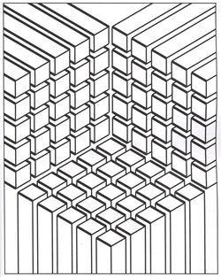 modern patterns optical botanical circular linear molecular and - Modern Patterns Coloring Book