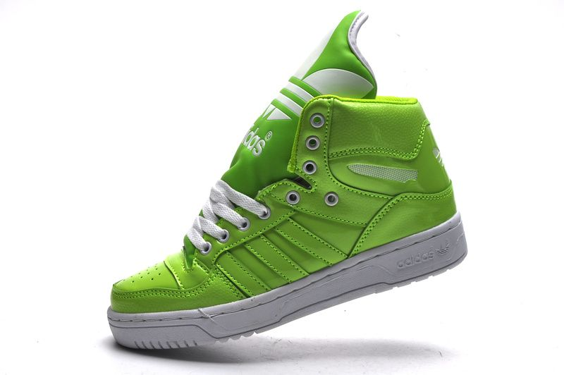 Adidas Shoes High Tops Green