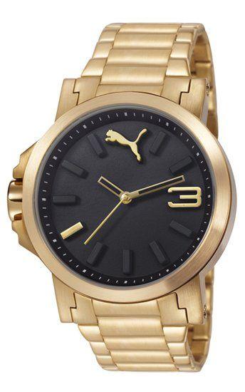 Reloj Puma Motosport Ultrasize Lds Metal Gold Black | Mi