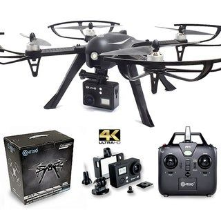 Contixo F17+ RC Drone With Camera Quadcopter Photography Drone 4K Ultra HD Camera Wide Angle Lens Best Drone For Beginners, Black #wideangle