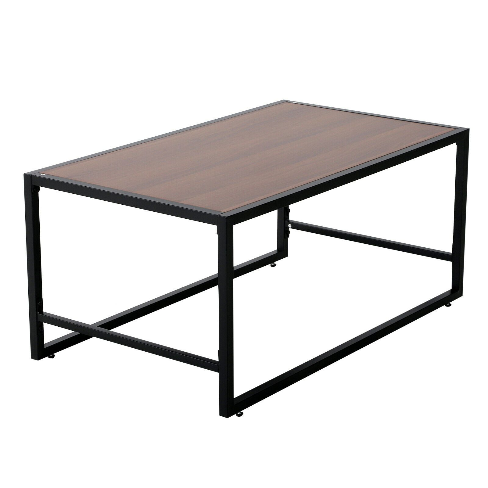 Table Salon Noir | Salon De Jardin Modulable En Résine Tressée