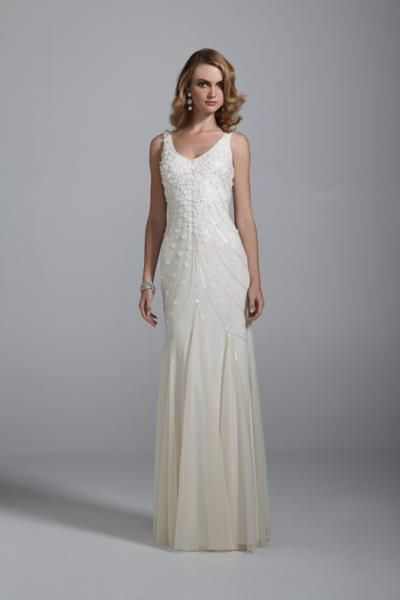 45c6c56056 image-beach-wedding-dress-51-gowns-attire-davids-bridal. This dress is  absolutely beautiful.
