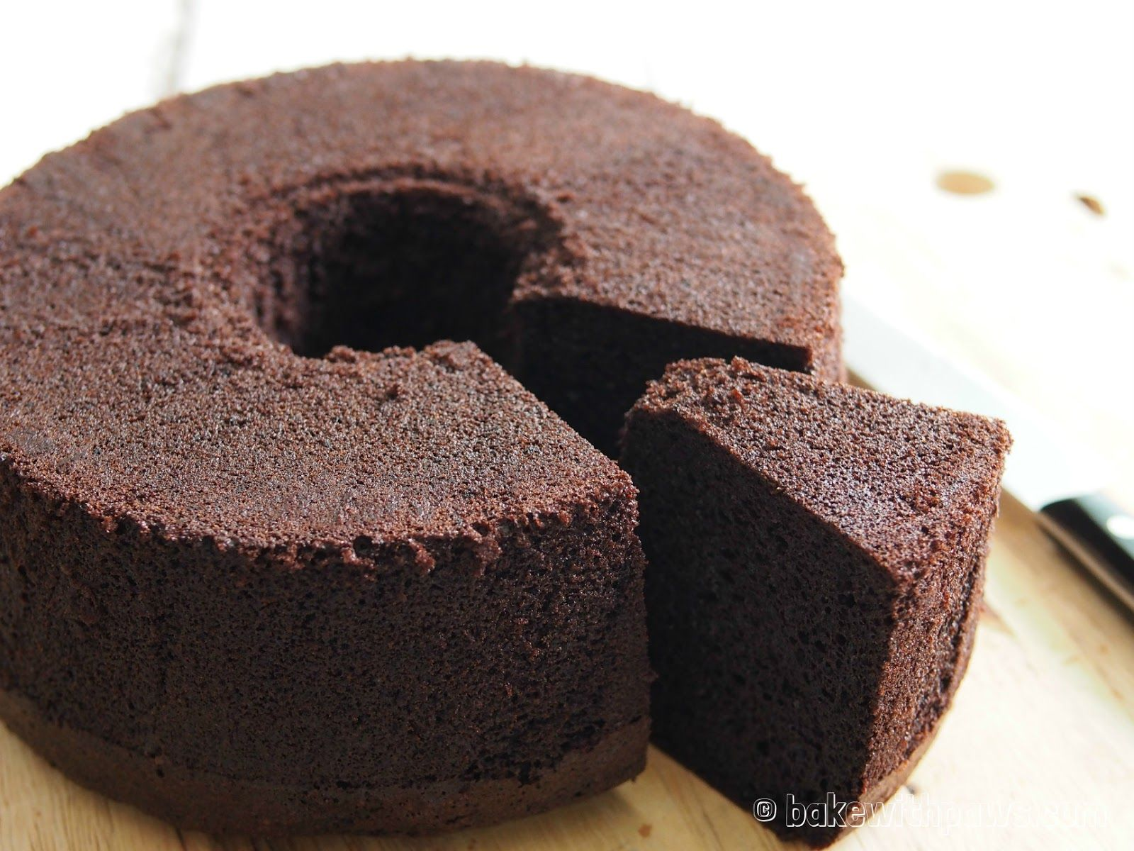 A Blog About Cooking And Baking Adventures And Discovery Of Simple Home Recipes For Ever Chocolate Chiffon Cake Chiffon Cake Dark Chocolate Chiffon Cake Recipe