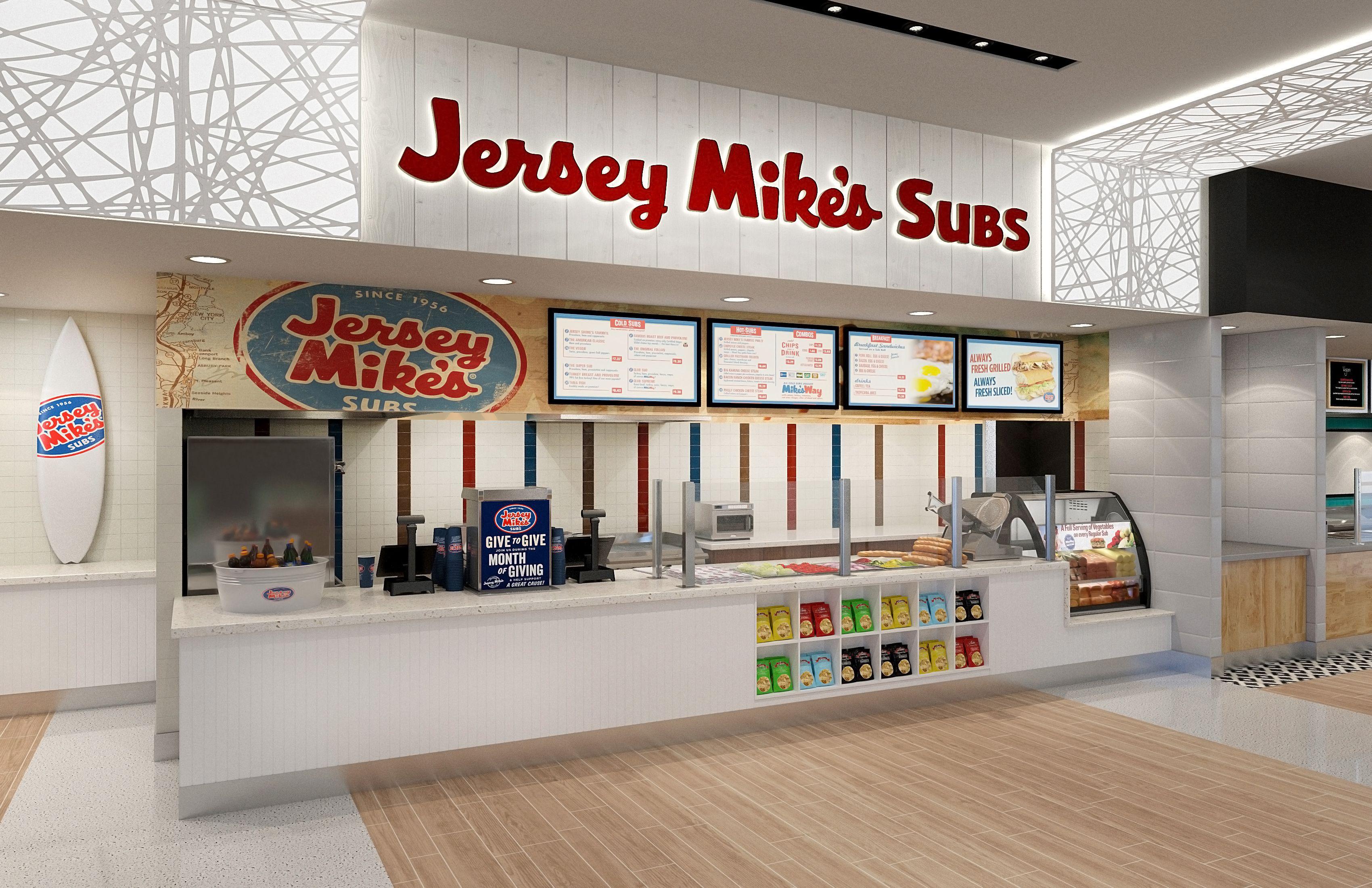 Jersey mikes subs phoenix sky harbor terminal 3