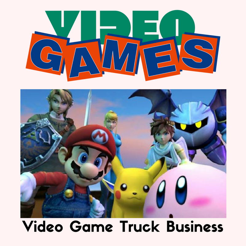 Mobile video game truck business is a profitable home