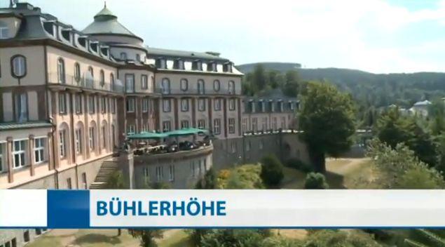Hoffnung fürs Schlosshotel Bühlerhöhe: Traditionshotel wieder eröffnet - Report bei HOTELIER TV: www.hoteliertv.net