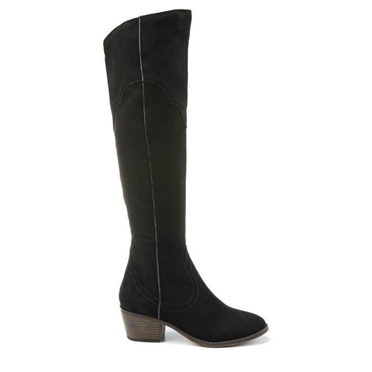 Fergalicious Women's Bata Wide Calf Western Boot DnoPc