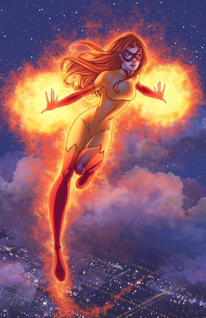 Firestar Colors by DStPierre on deviantART | Firestar marvel, Marvel comics  art, Marvel comics