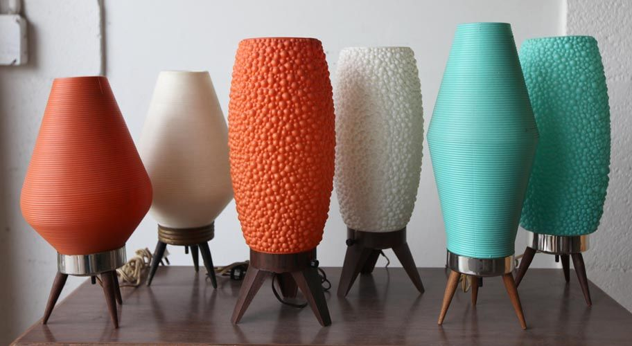 We have a bunch of these fun atomic beehive lamps in our Glyfyx lounge.