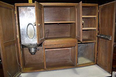 Marsh Furniture Co. Antique Oak Hoosier Cabinet