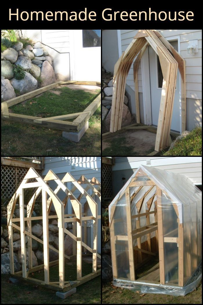 Photo of It may take a little bit of work but your effort will give you your very own homemade greenhouse