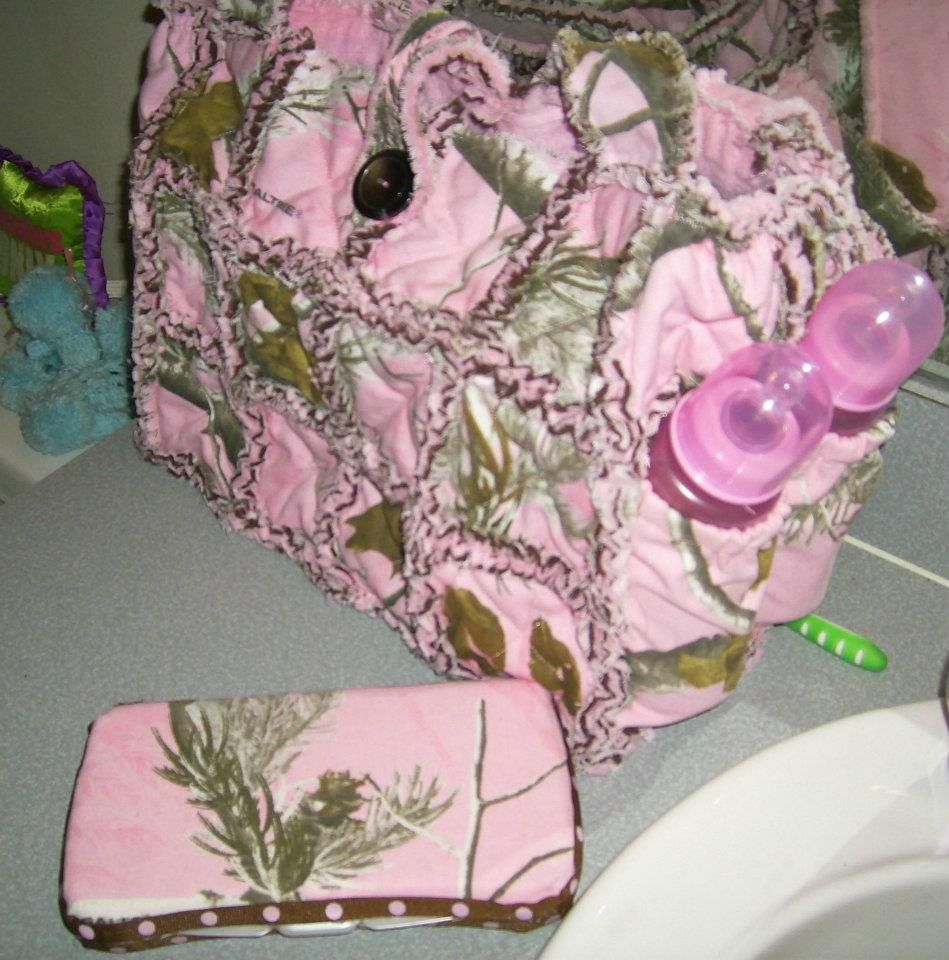 Quilted Rag Bag Pink Realtree Diaper Bag Rag Purse Www
