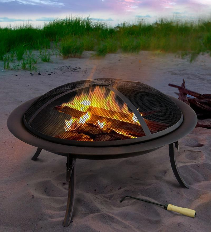 Portable Fire Pit To Go With Carrying Bag Portable Fire Pits