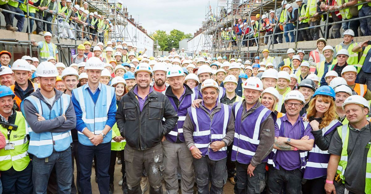 DIY SOS veterans' village emotional reveal touches
