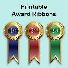 Free Printable First Place Ribbons Awards Printables Ribbon