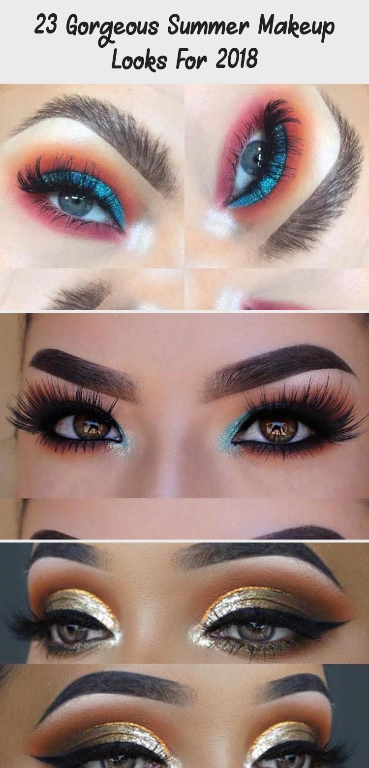 23 Gorgeous Summer Makeup Looks For 2018 Eye Makeup Bold ...