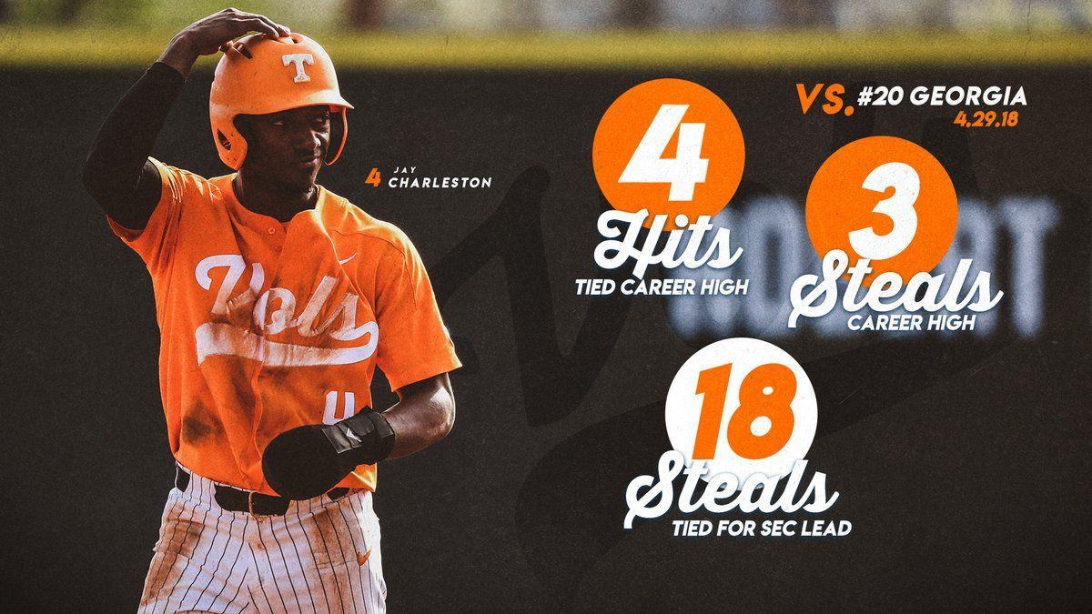 Tennessee Sports graphic design, College baseball