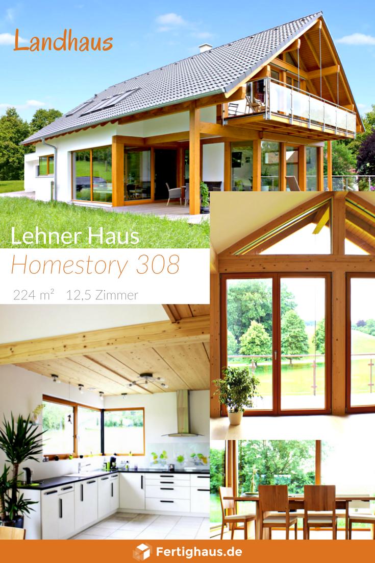 """Modernes Fachwerkhaus im alpenländischen Stil """"Homestory"""