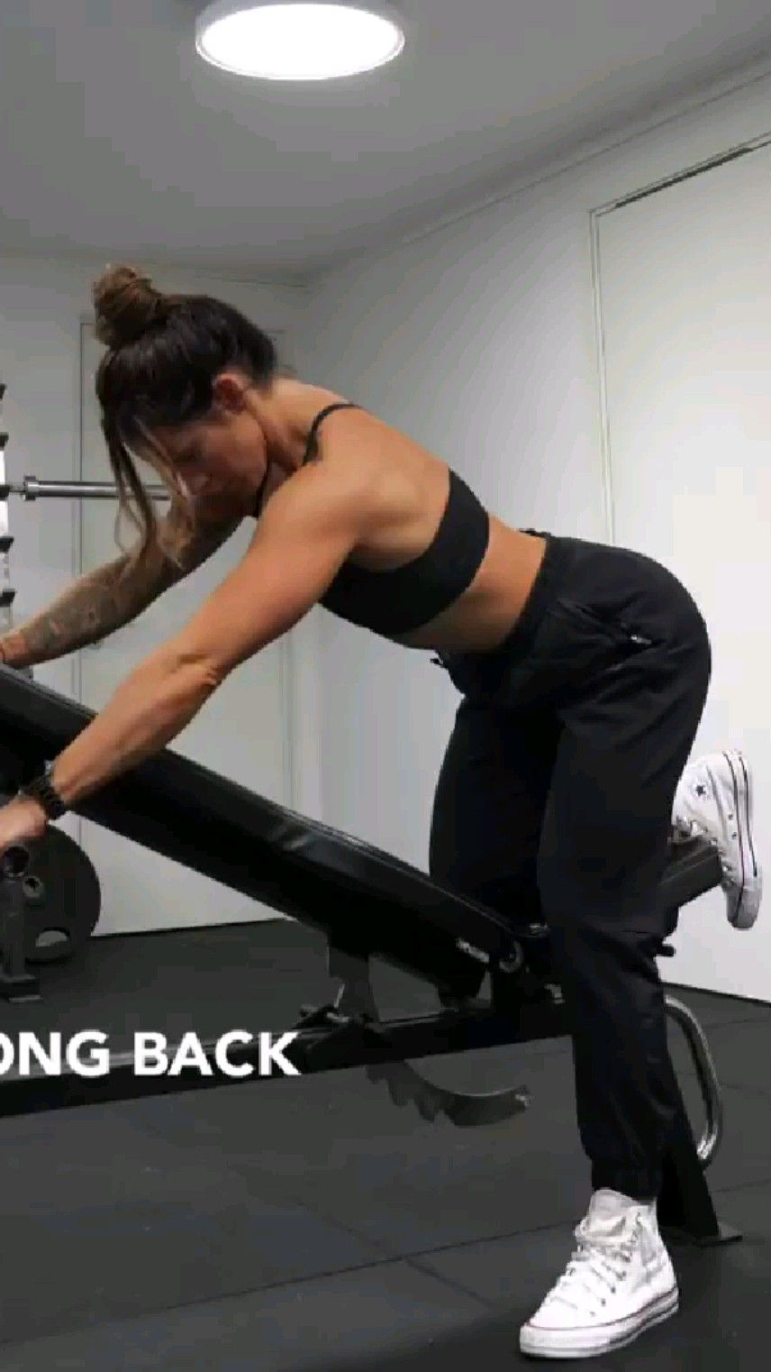 STRONG BABY BACK BACK WORKOUT for women's