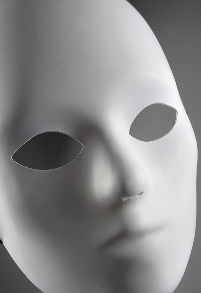 Plain Masks To Decorate Blank Masks White Full Face Adult  Blank Mask Masks And Ideas