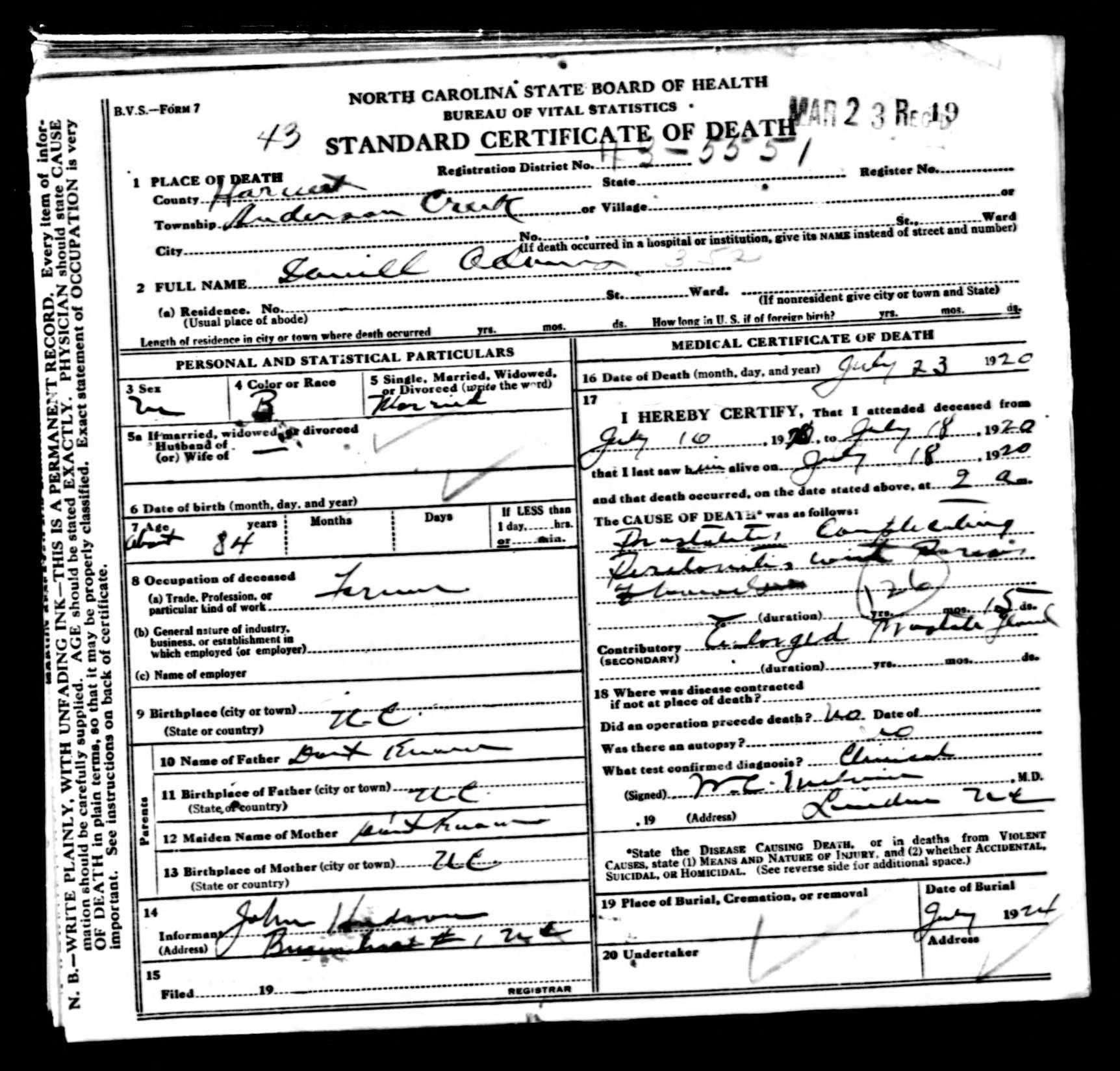 Icd Codes On Death Certificates Can Tell You How Your Ancestors Died