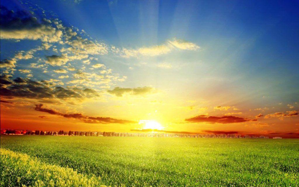 Umihotaru On Twitter Sunset Wallpaper Nature Wallpaper Sunrise Background Sun rising wallpaper free download