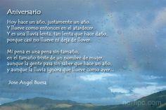 Aniversario poema de Jose Angel Buesa