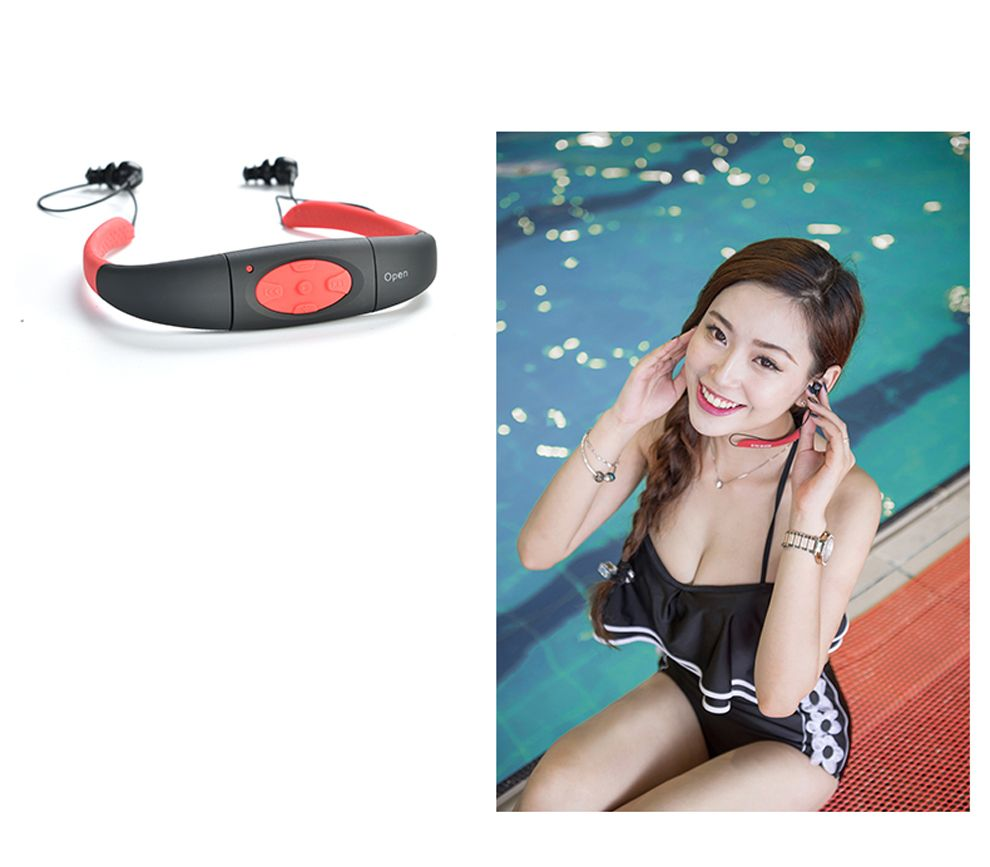 4G/8G Waterproof MP3 IPX8 Music Player Underwater Sports Neckband Swimming Diving FM Radio Earphone Stereo Audio Headphone Headsets For Cell Phones Phone Earphones From Lxf13713712994, $17.9| DHgate.Com #audioheadphones