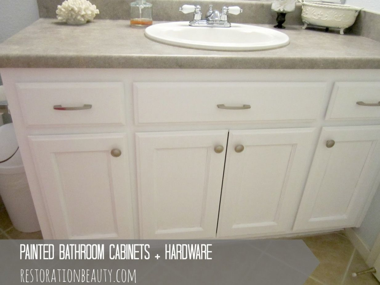 2019 Hardware for Bathroom Cabinets - Neutral Interior Paint Colors ...