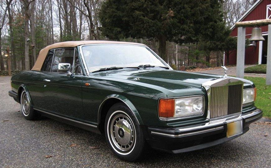 1990 Rolls-Royce Silver Spur Convertible Coupé by Straman (chassis SCAZS02DXLCX31319)