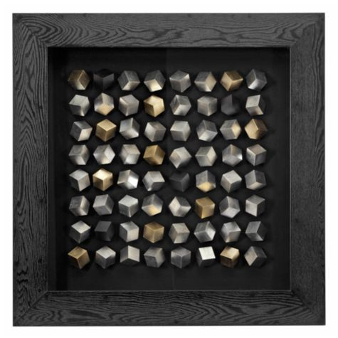 Want to make this- Silver Cube Squared from Z Gallerie | Great ...
