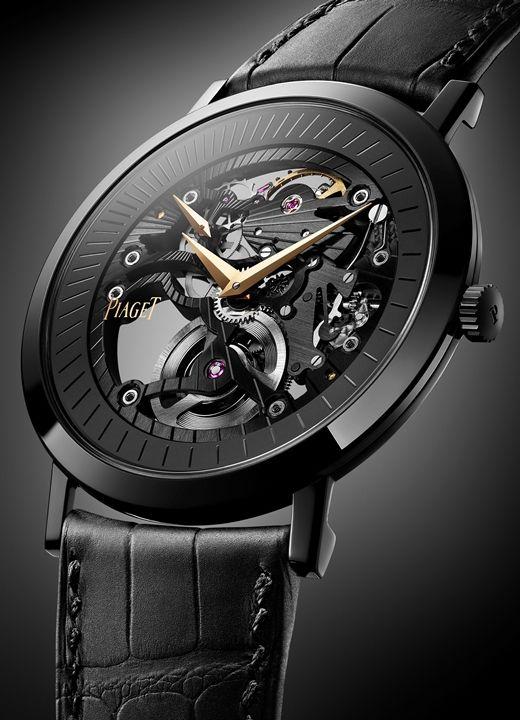 23c72ece9d3 PIAGET Altiplano Skeleton Watch