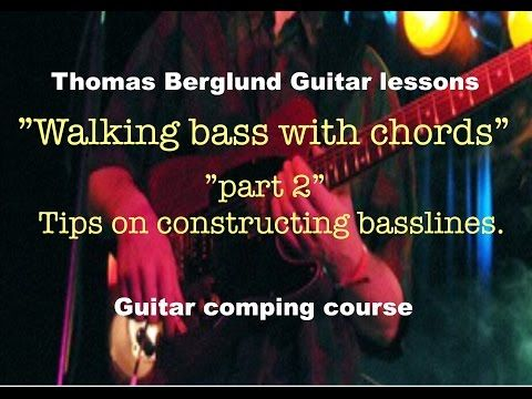 Walking Bass With Chords Part 2 Httpultimate Guitar