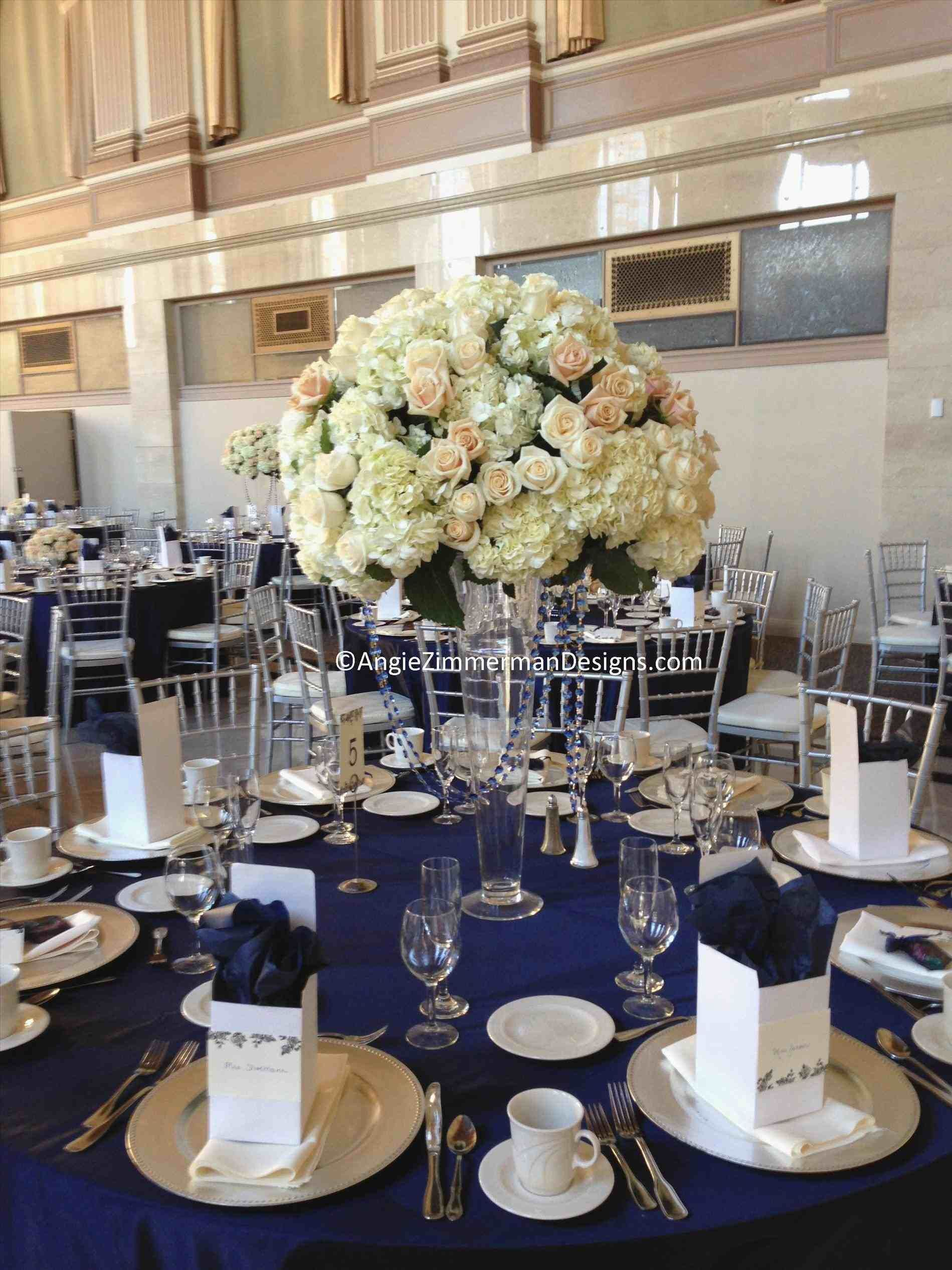 Wedding decorations to make february 2019 blue and gold wedding centerpieces  Bridesmaids   Pinterest