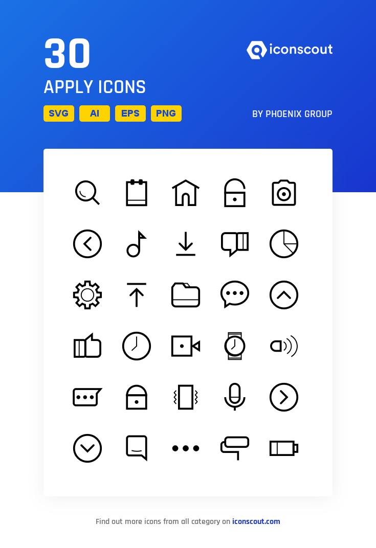 Download Download Apply Icon pack - Available in SVG, PNG, EPS, AI ...