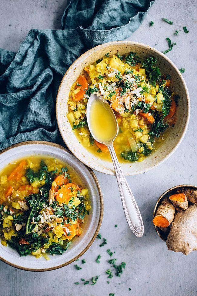 Anti Inflammatory Lentil Soup Recipe Healthy Recipes Vegetarian Recipes Whole Food Recipes