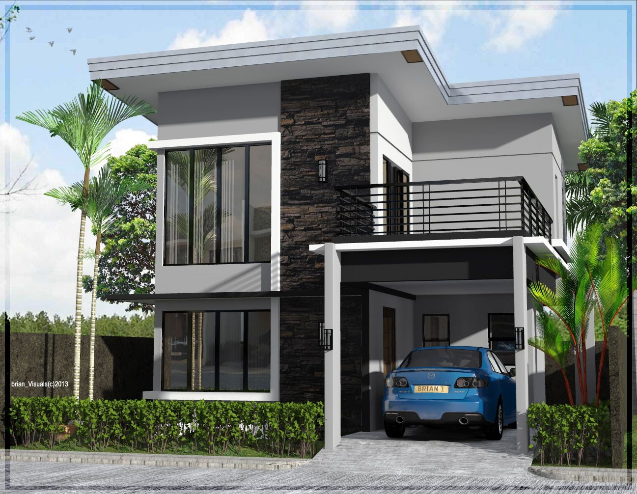 House design two story - Small Two Story House Design Homeworlddesign Interiordesign Interior Interiors House