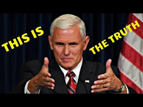 Whoa! Mike Pence Exposes Truth On-air, Media Goes Nuts! - YouTube