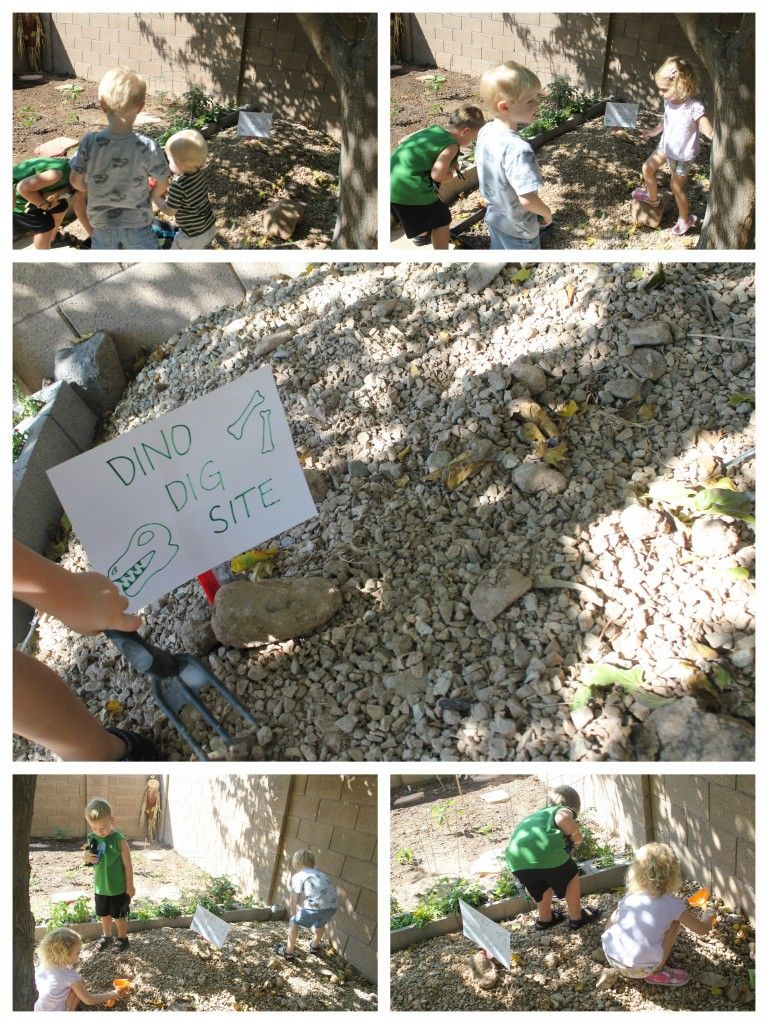 Michele, we could modify something like this for your dinosaur unit!!