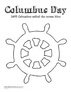 Ship Steering Wheel Coloring Pages For Kids Coloring Pages