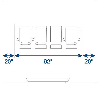Home Theater Seating Distance
