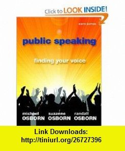 Public Speaking Finding Your Voice 9th Edition 9780205778447