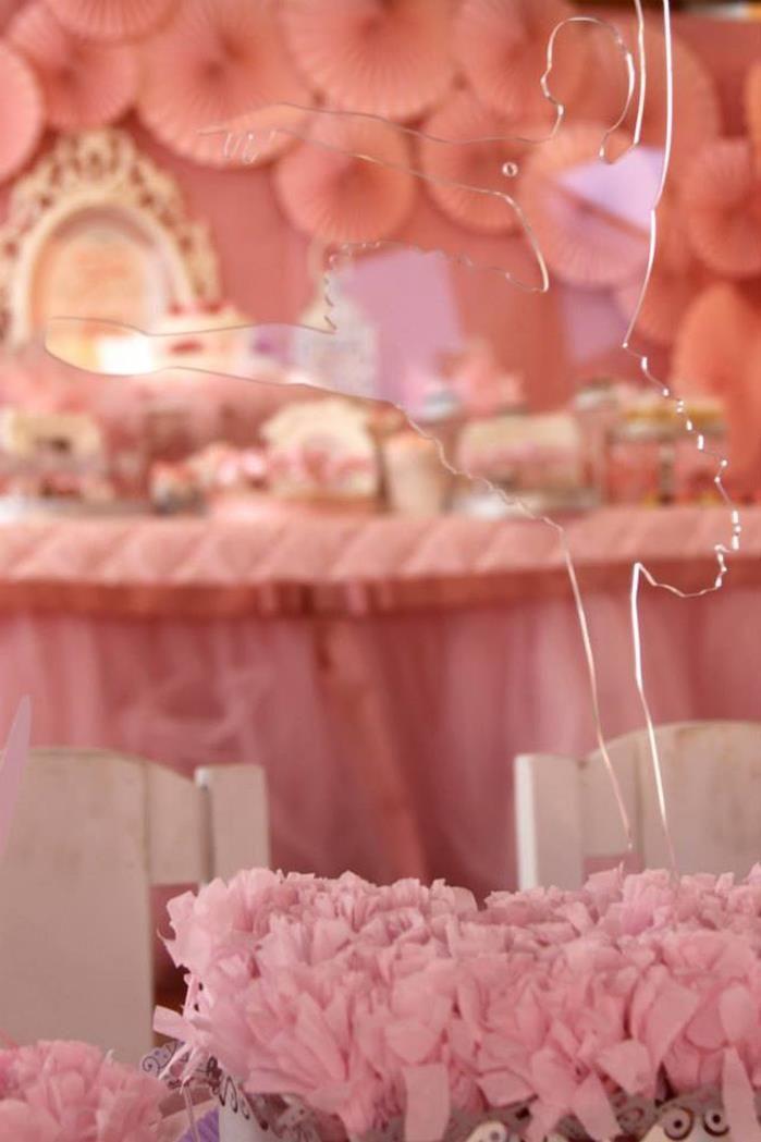 Pink Party aniversário da bailarina via Idéias do partido de Kara |. Kara'sPartyIdeas com # # Ballet PartyIdeas # Suprimentos # Girl # Pink (4)