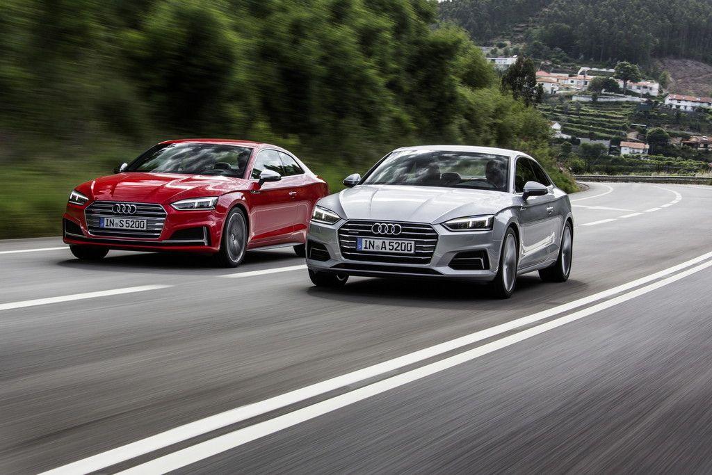Eerste echte beelden van de nieuwe Audi A5 en S5 Coupé