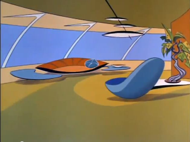 Image result for the jetsons living room