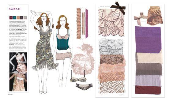 Promostyl - Lingerie trend book | Textiles | ~ Apparel ...